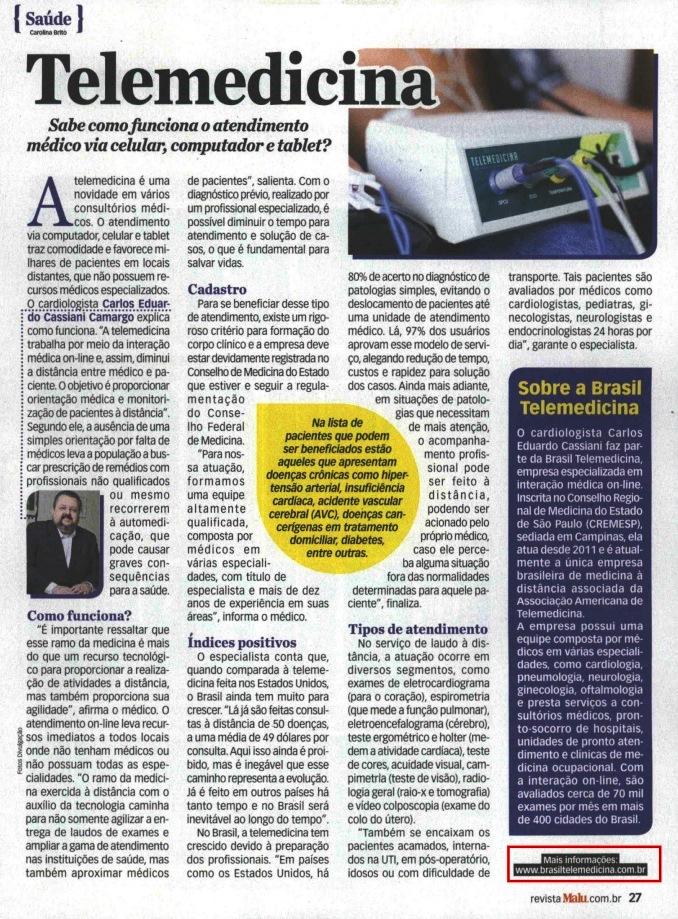 Revista Brasil Telemedicina